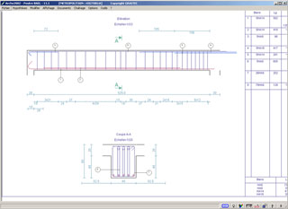 Graitec arche structure for Calcul chauffage piscine xls